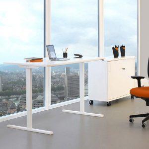 White light skrivbord